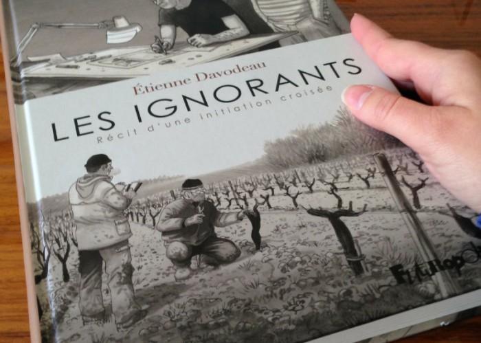 BD Les Ignorants d'Etienne Davodeau