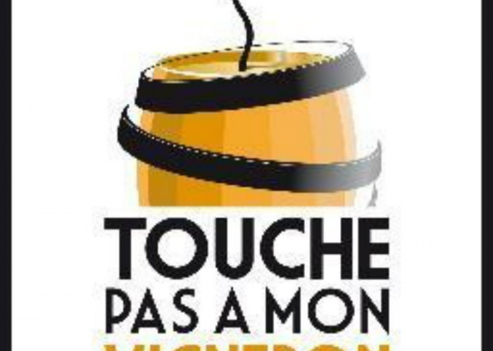 Logo Touche Pas A Mon Vigneron