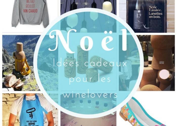 idees cadeaux de Noel winelovers
